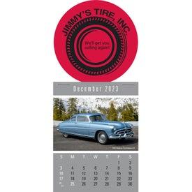 Press N Stick Supersize Cruisin Cars Calendar