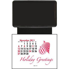 Personalized Press N Stick Business Card with AD Copy Space