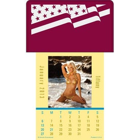 Custom Press N Stick Sunshine Girls Calendar Pad