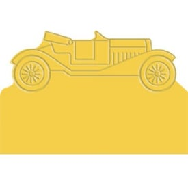 Printed Press-N-Stick - Cruisin' Cars Calendar Pad