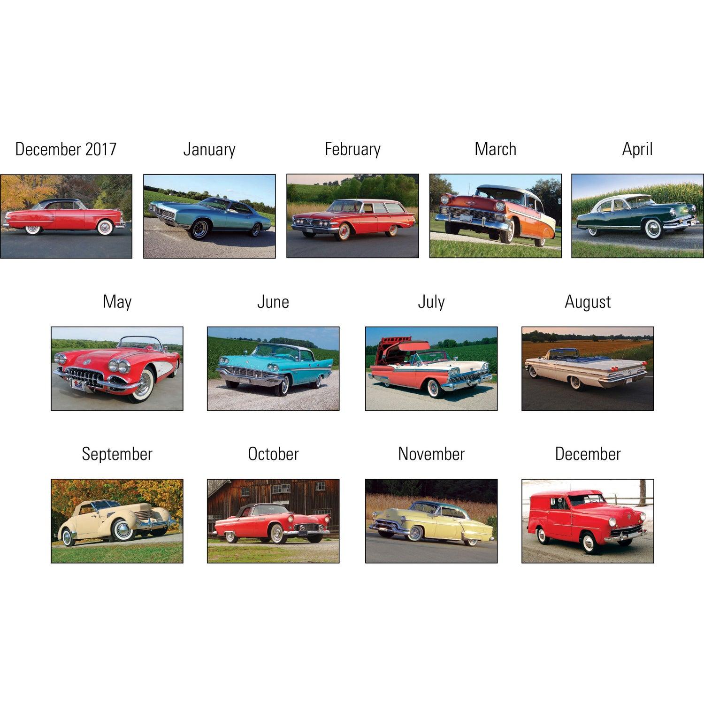 Promotional Press-N-Stick - Cruisin\' Cars Calendar Pads with Custom ...