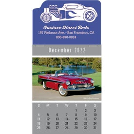 Press-N-Stick Cruisin'' Cars Calendar Pads (2021)