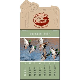 Press-N-Stick - Sportsmen Calendar Pad Imprinted with Your Logo