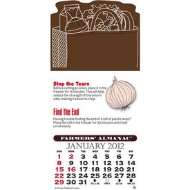 Press-N-Stick - Farmer's Almanac Calendar Pad