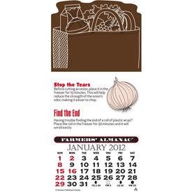 Press-N-Stick - Farmer's Almanac Calendar Pad