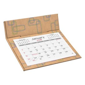 Printed 3-Month Pop Up Calendar for Your Organization