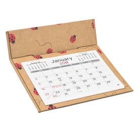 Custom Printed 3-Month Pop Up Calendar