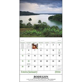 Advertising Puerto Rico Stapled Calendar