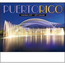Puerto Rico Stapled Calendar for your School