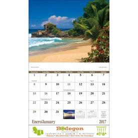 Puerto Rico Stapled Calendar for Marketing