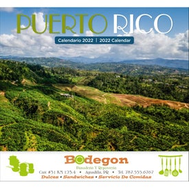 Puerto Rico Stapled Calendar (2020)