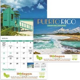 Custom Puerto Rico Stapled Calendar