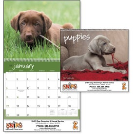 Logo Puppies 12 Month Appointment Calendar