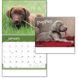 Branded Puppies 12 Month Appointment Calendar
