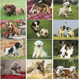 Advertising Puppies 12 Month Appointment Calendar