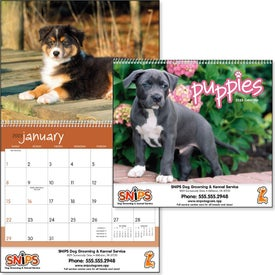 Promotional Puppies 12 Month Appointment Calendar