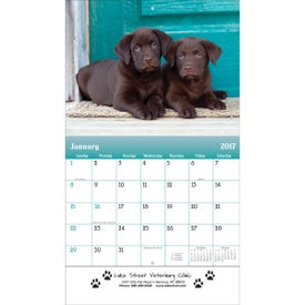 Puppies and Kittens Wall Calendar for Marketing
