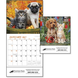 Logo Puppies and Kittens Mini Calendar