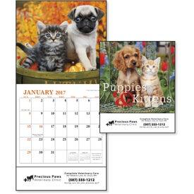 Logo Puppies and Kittens Mini Calendar