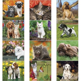 Company Puppies and Kittens Mini Calendar