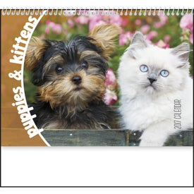 Promotional Puppies and Kittens Pocket Calendar