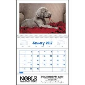 Custom Puppies and Kittens Pocket Calendar