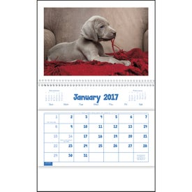 Puppies and Kittens Pocket Calendar for Promotion