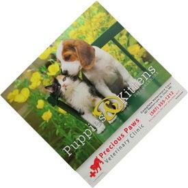 Logo Puppies and Kittens Stapled Calendar
