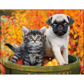 Company Puppies and Kittens Window Calendar