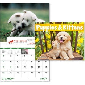 Puppies and Kittens Window Calendar (2020)