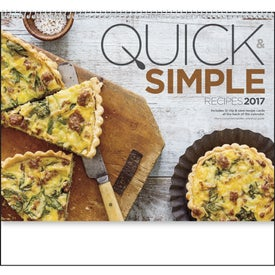 Quick and Simple Recipes - Calendar Imprinted with Your Logo