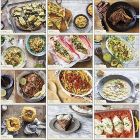 Customized Quick and Simple Recipes - Calendar