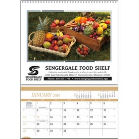 Promotional Recipes Pocket Calendar