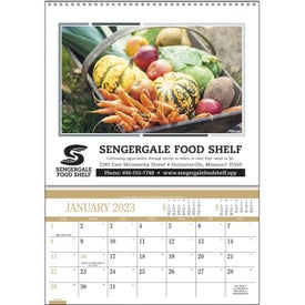 Recipes Pocket Calendar for your School