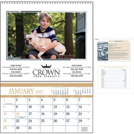 Personalized Recipe Pocket Calendar for Your Company