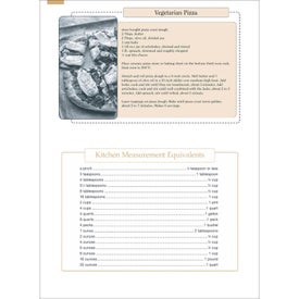 Personalized Recipe Pocket Calendar for your School