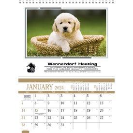Custom Recipe Pocket Calendar