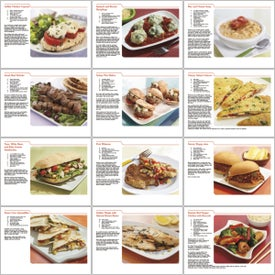 Customized Personalized Recipe Calendar