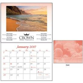 Monogrammed Personalized Recipe Calendar
