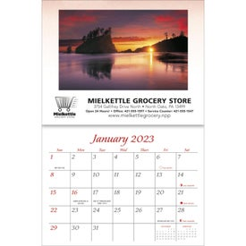Personalized Recipe Calendar Imprinted with Your Logo