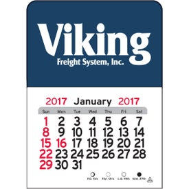 Personalized Rectangle Vinyl Adhesive Calendar