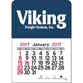 Personalized Rectangle Vinyl Adhesive Calendar