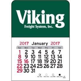 Rectangle Vinyl Adhesive Calendar for Advertising