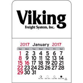 Custom Rectangle Vinyl Adhesive Calendar