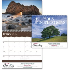 Printed Religious Inspirations Appointment Calendar