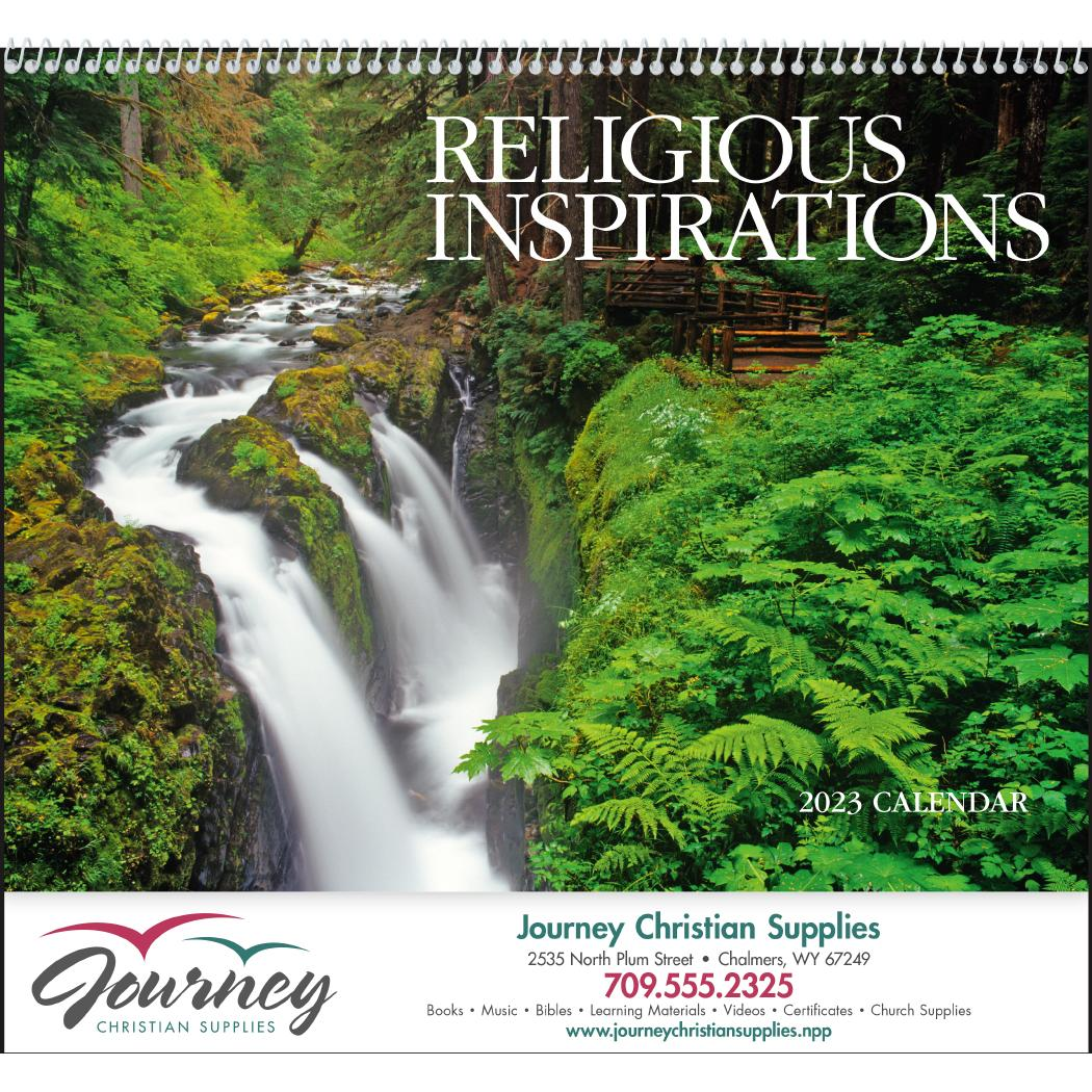 promotional 2019 religious inspirations appointment calendars with