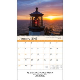 Branded Religious Reflections Wall Calendar