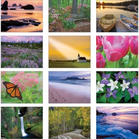 Religious Reflections Wall Calendar Branded with Your Logo