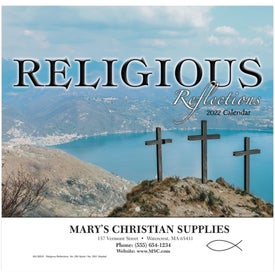 Religious Reflections Wall Calendar (2021, Stapled)