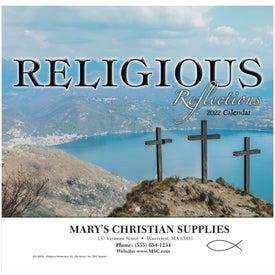 Religious Reflections Wall Calendar (Stapled)